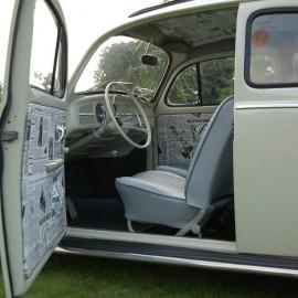Herbie Inside Driver Seat